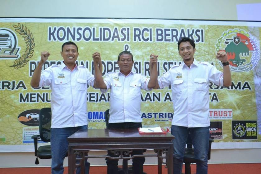 konsolidasi Rent Car Indonesia Sejahtera