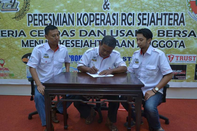 peresmian Rent Car Indonesia Sejahtera